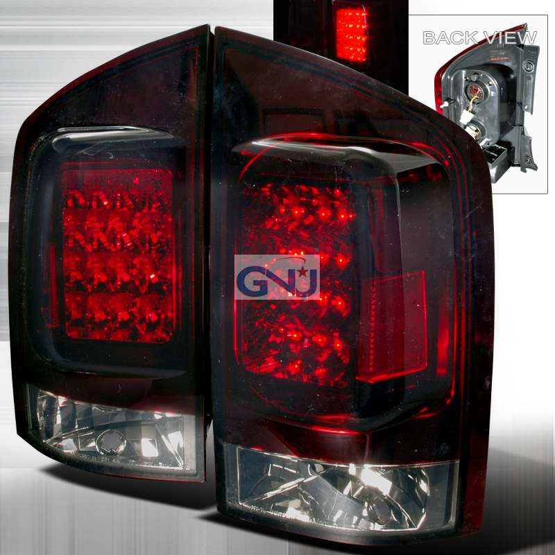 Nissan Armada  2005-2012 Red / Smoke LED Tail Lights