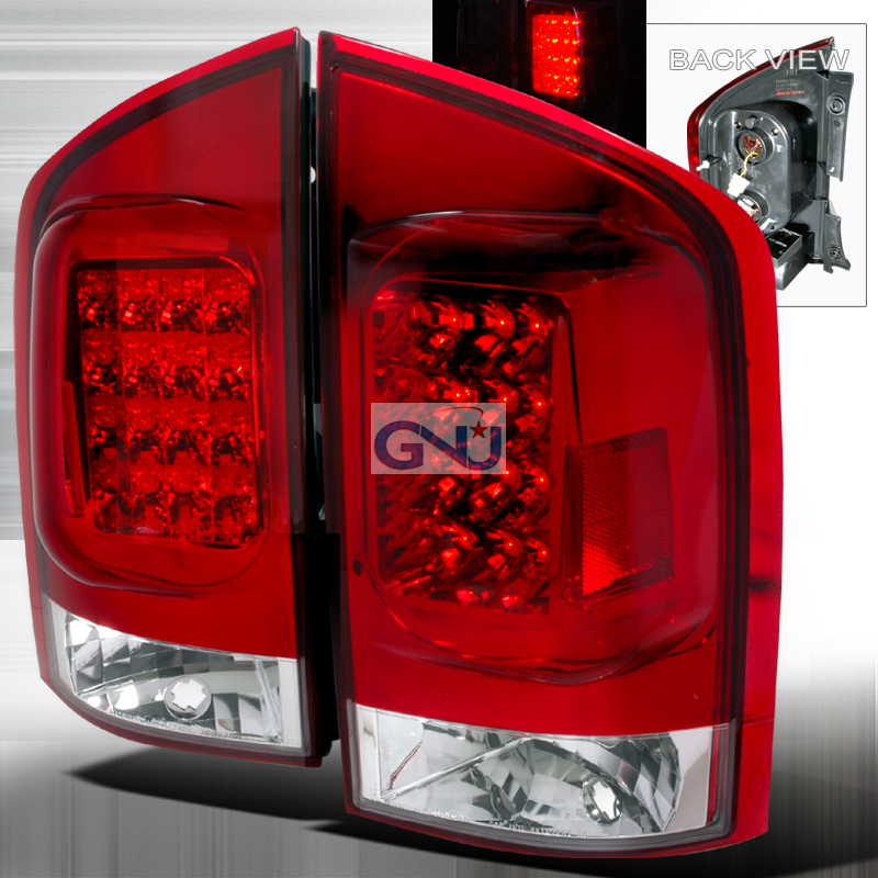 Nissan Armada  2005-2012 Red LED Tail Lights