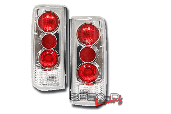 Chevrolet Astro  1985-1998 Chrome Euro Tail Lights