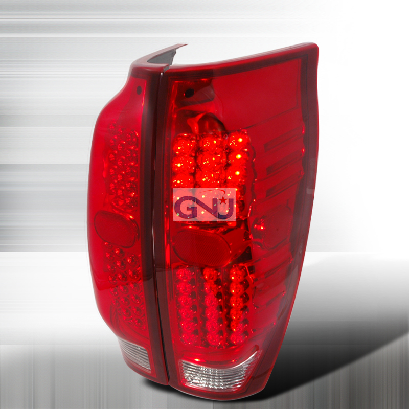 Chevrolet Avalanche  2002-2006 Red LED Tail Lights