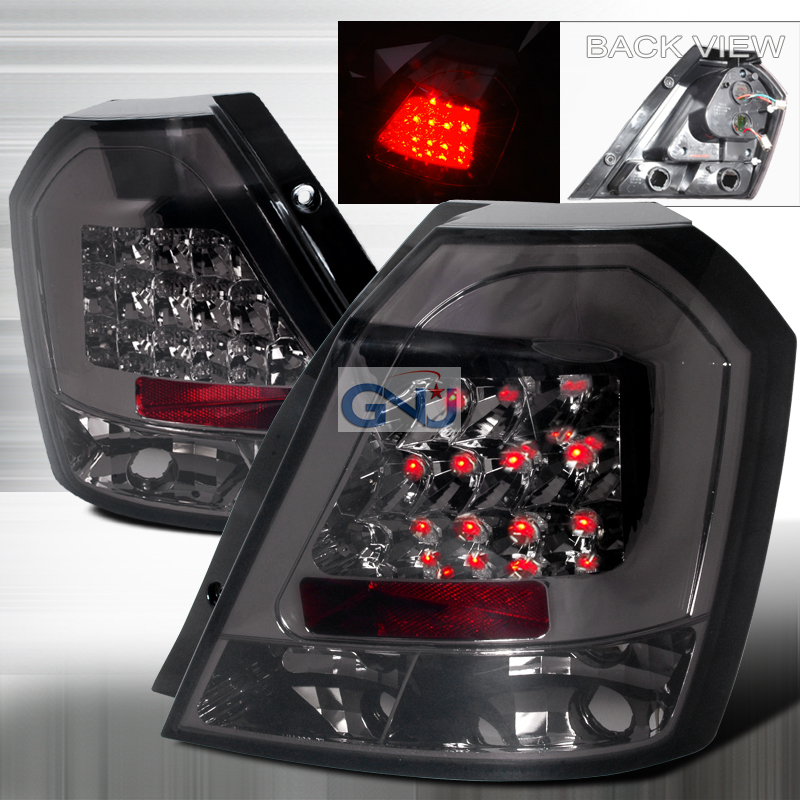 Chevrolet Aveo  2007-2011 Smoke LED Tail Lights