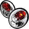 Volkswagen Beetle  1998-2005 Chrome Euro Tail Lights
