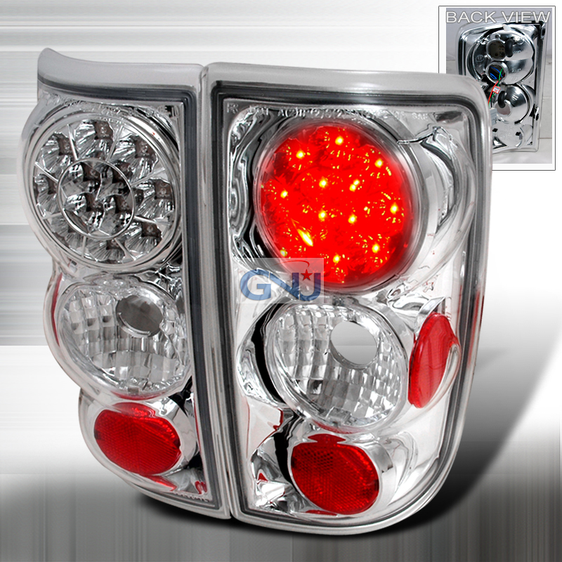 Chevrolet Blazer  1995-2000 Chrome LED Tail Lights