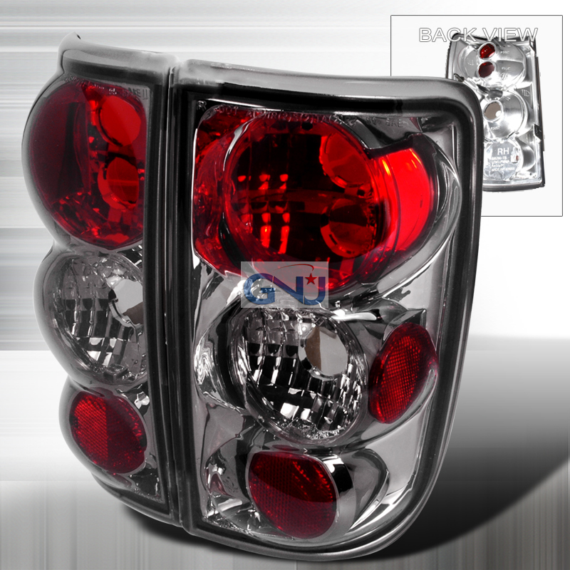 Chevrolet Blazer  1995-2004 Smoke Euro Tail Lights