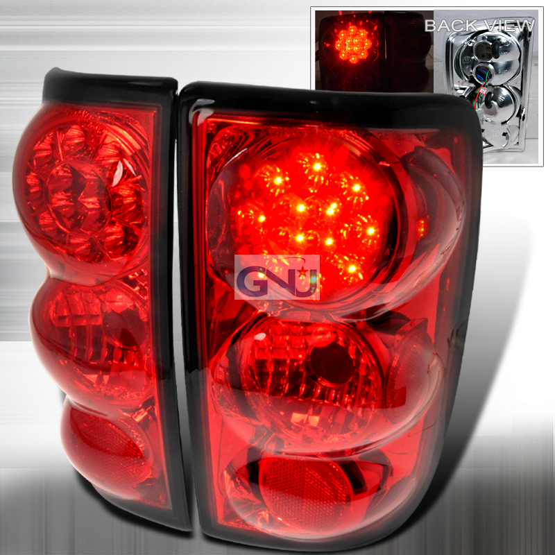 Chevrolet Blazer  1995-2004 Red LED Tail Lights