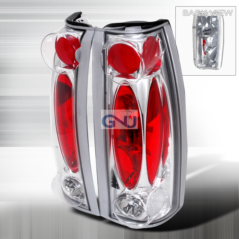 Chevrolet Full Size Pickup  1988-1998 Chrome Euro Tail Lights