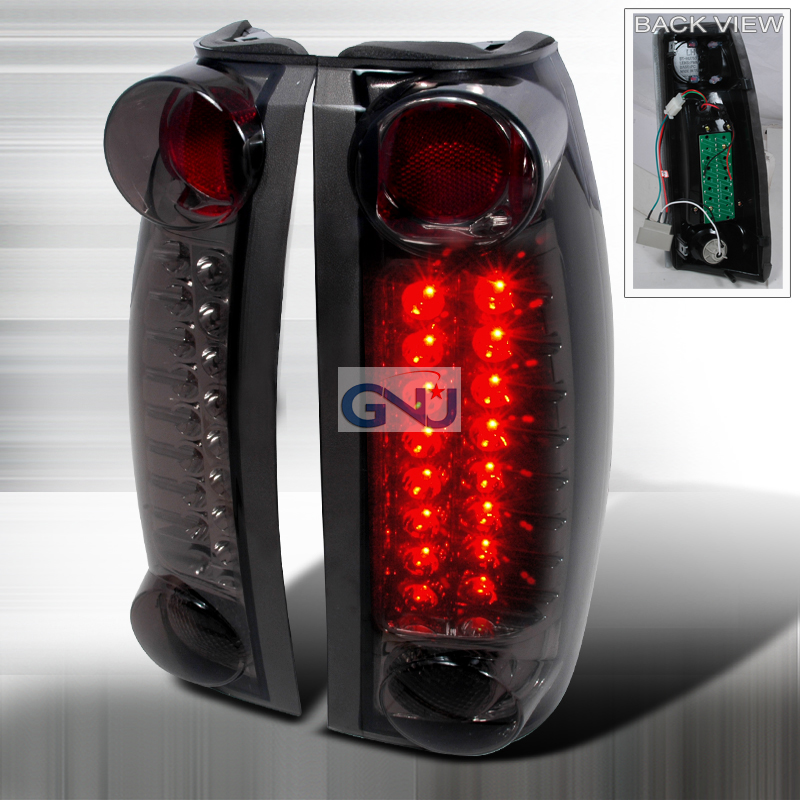 Chevrolet Full Size Pickup 1988-1998 LED Tail Lights -  Smoke
