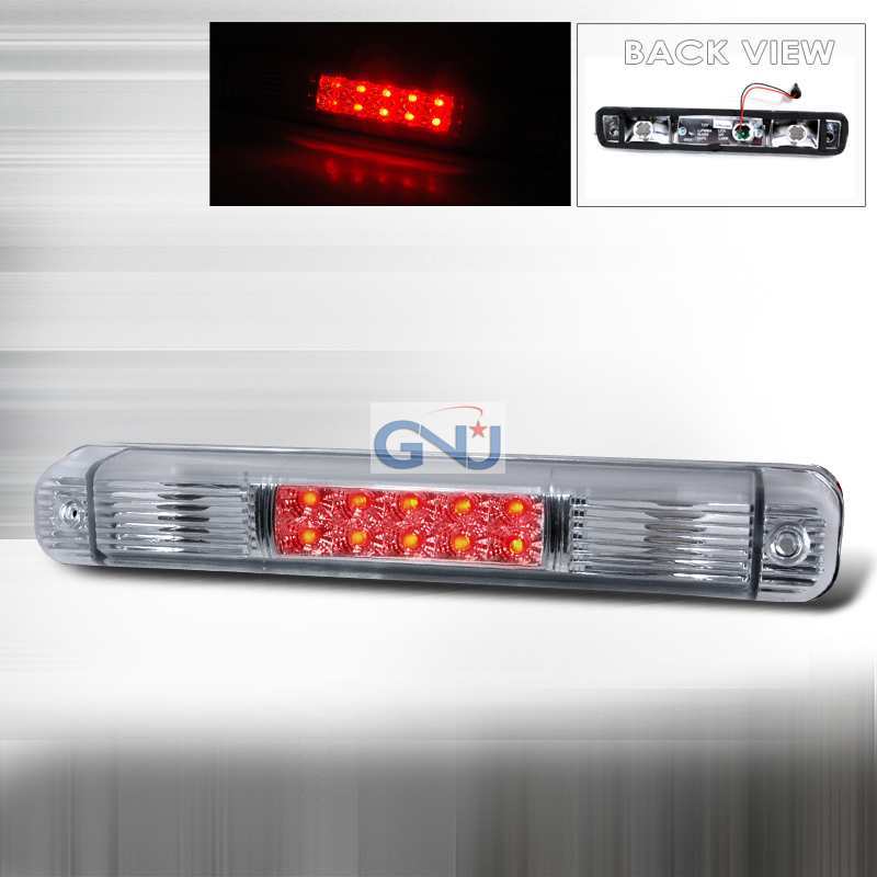 Chevrolet Full Size Pickup 1994-1998 LED 3rd Brake Light - Chrome