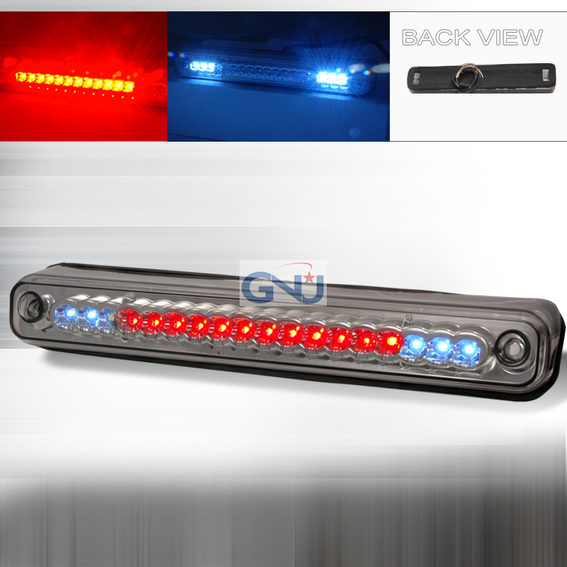 Chevrolet Full Size Pickup 1994-1998 LED 3rd Brake Light - Smoke