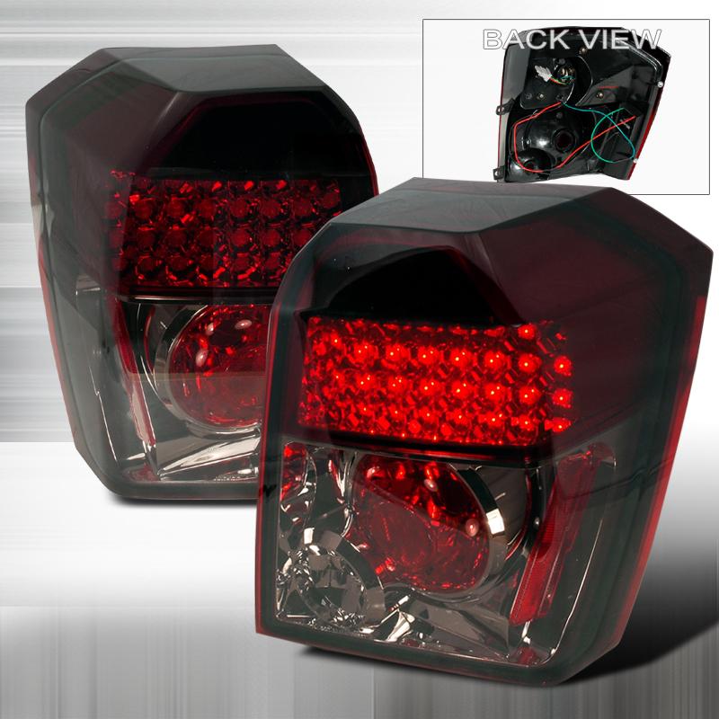Dodge Caliber  2007-2012 Smoke LED Tail Lights