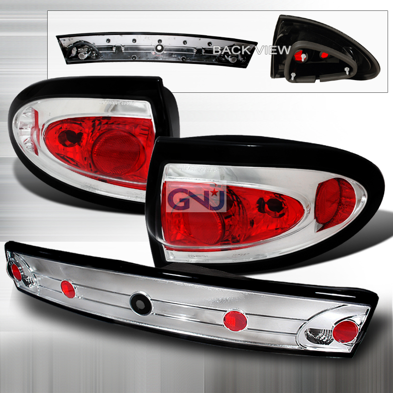 Chevrolet Cavalier  2003-2005 Chrome Euro Tail Lights