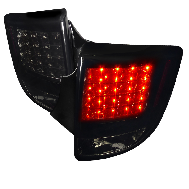 Toyota Celica  2000-2005 Glossy Black W/ Smoked Lens LED Tail Lights