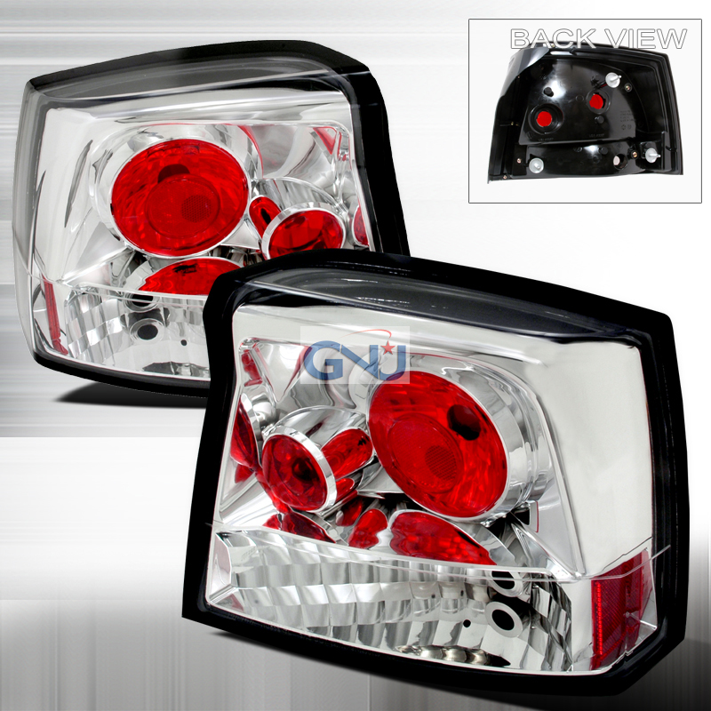 Dodge Charger  2005-2008 Chrome Euro Tail Lights