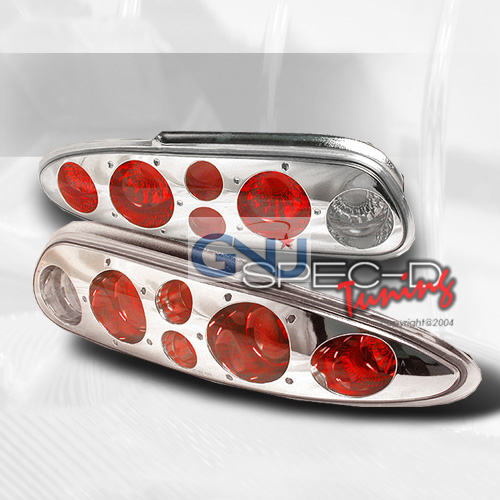 Chevrolet Camaro  1993-2002 Chrome Euro Tail Lights