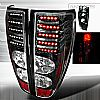 2009 Gmc Canyon   Black LED Tail Lights