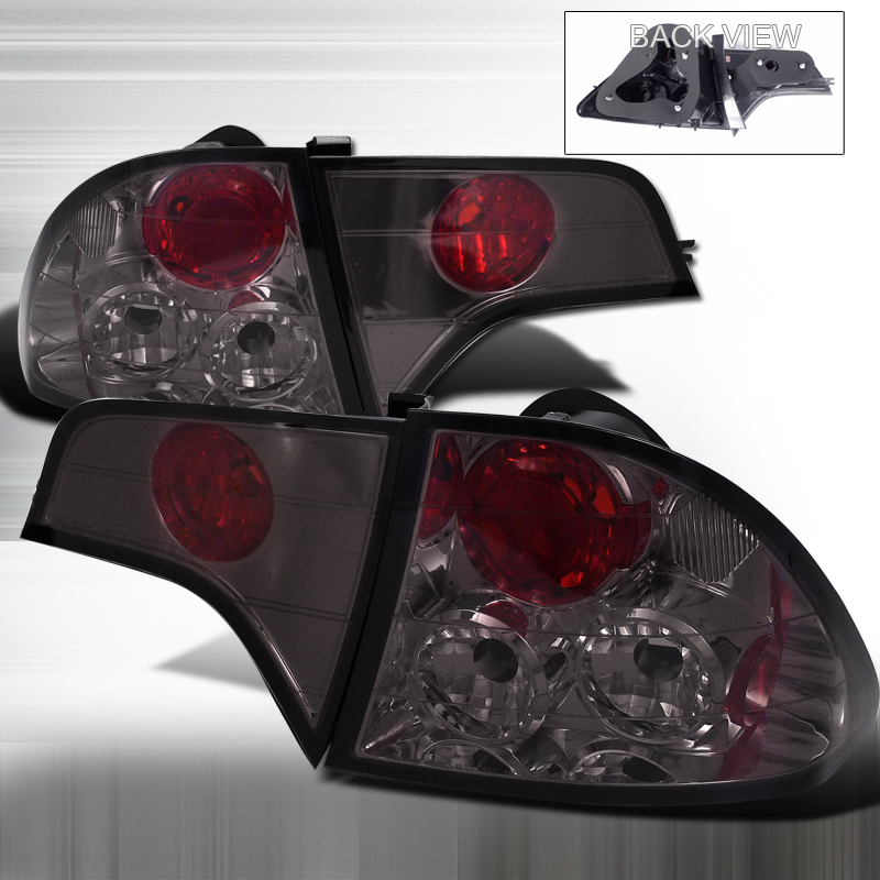 Honda Civic  2006-2010 Smoke Euro Tail Lights