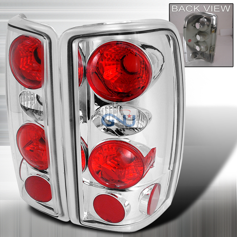 Chevrolet Tahoe  2000-2006 Chrome Euro Tail Lights