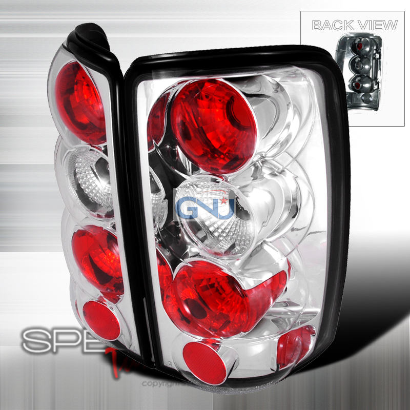 Gmc Yukon  2000-2006 Chrome Euro Tail Lights