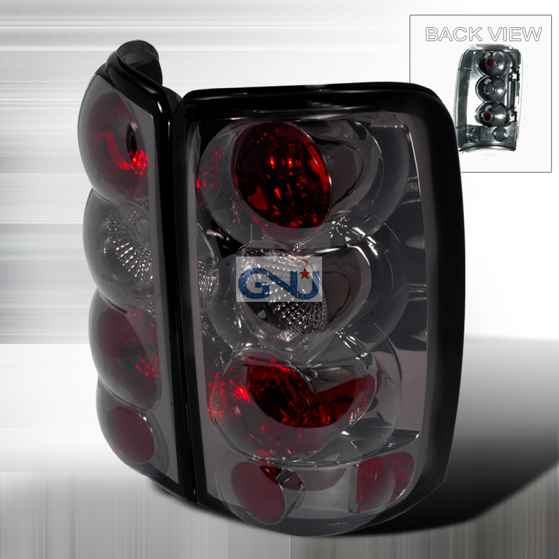Gmc Yukon  2000-2006 Smoke Euro Tail Lights