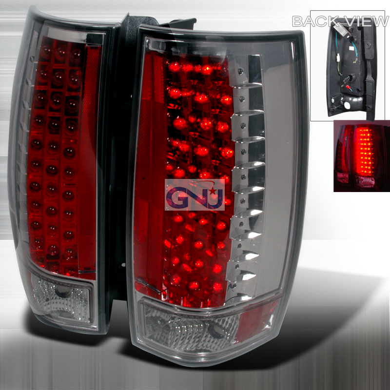 Chevrolet Tahoe  2007-2010 Chrome LED Tail Lights