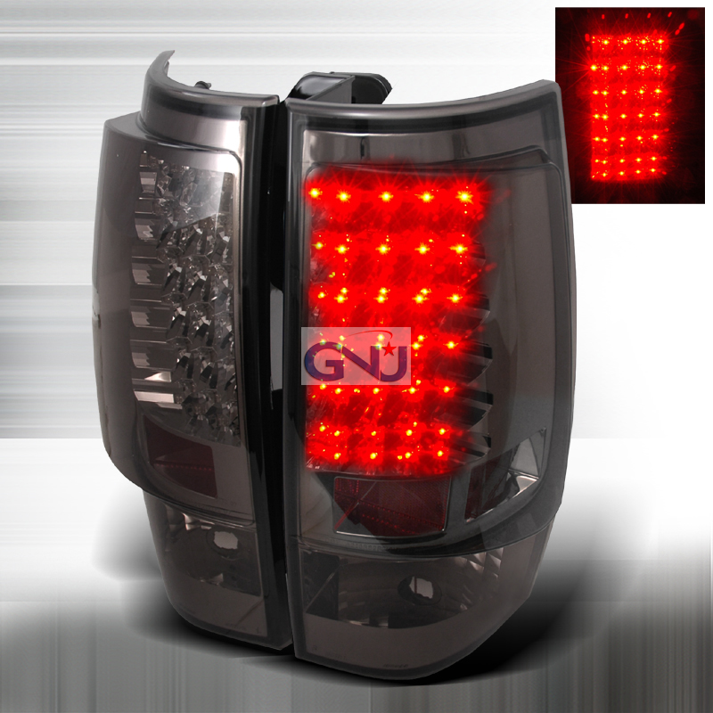 Chevrolet Tahoe  2007-2010 Smoke LED Tail Lights