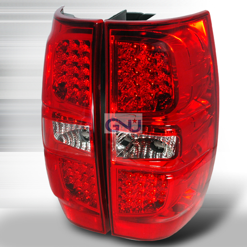 Chevrolet Tahoe  2007-2010 Red LED Tail Lights