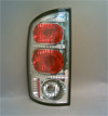 Dodge Ram 2002-2004 Altezza Clear Euro Tail Lights