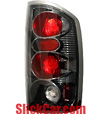 2006 Dodge Ram  Altezza Carbon Fiber Euro Tail Lights