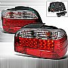 1997 Bmw 7 Series E38  Red LED Tail Lights