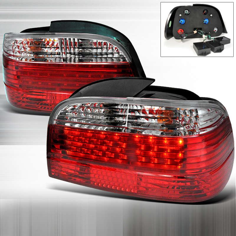 Bmw 7 Series E38 1995-2001 Red LED Tail Lights