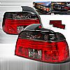 Bmw 5 Series  1997-2000 Smoke Euro Tail Lights
