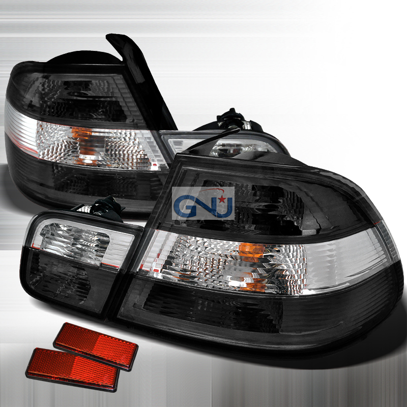 Bmw 3 Series 2 Door 2000-2003 Chrome Euro Tail Lights