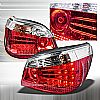 2005 Bmw 5 Series E60  Chrome LED Tail Lights 