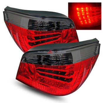 Bmw 5 Series E60 2004-2009 Smoke LED Tail Lights