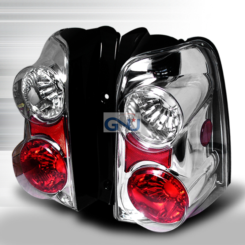 Ford Escape  2001-2006 Chrome Euro Tail Lights