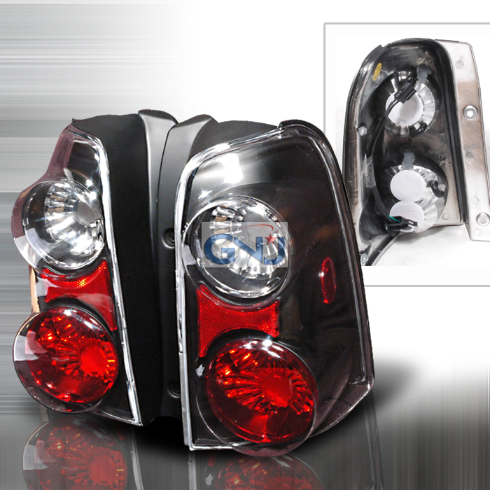 Ford Escape  2001-2006 Black Euro Tail Lights