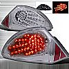 Mitsubishi Eclipse  2000-2002 Chrome LED Tail Lights