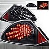 Mitsubishi Eclipse  2000-2002 Black LED Tail Lights