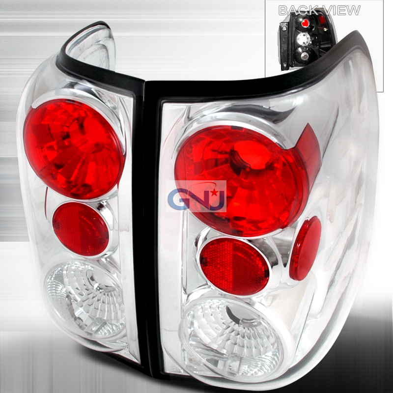 Ford Expedition  2003-2006 Chrome Euro Tail Lights