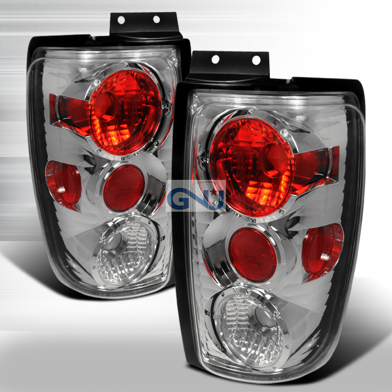Ford Expedition  1997-2002 Chrome Euro Tail Lights