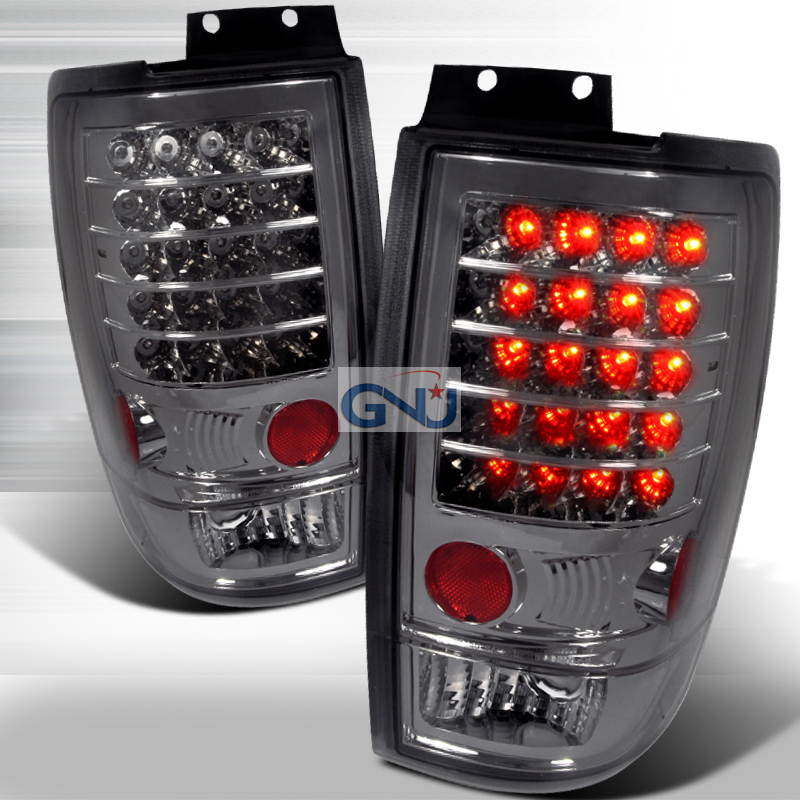 Ford Expedition  1997-2002 Smoke LED Tail Lights