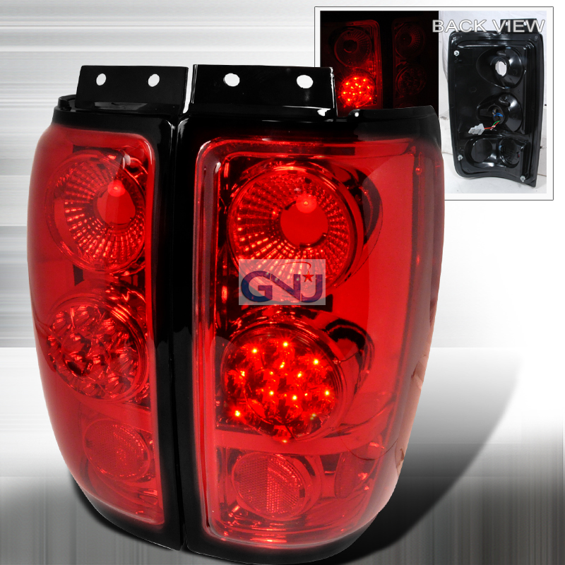 Ford Expedition  1997-2002 Red LED Tail Lights