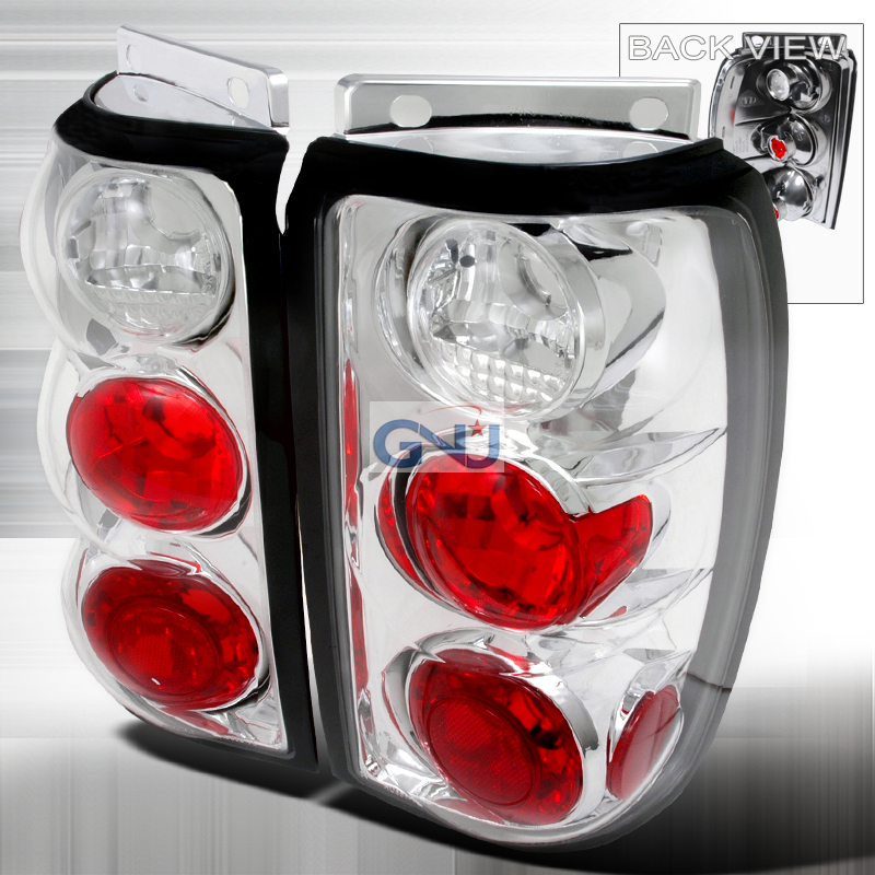 Ford Explorer  1995-1997 Chrome Euro Tail Lights