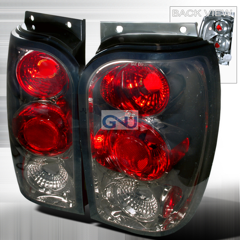 Ford Explorer  1998-2001 Smoke Euro Tail Lights