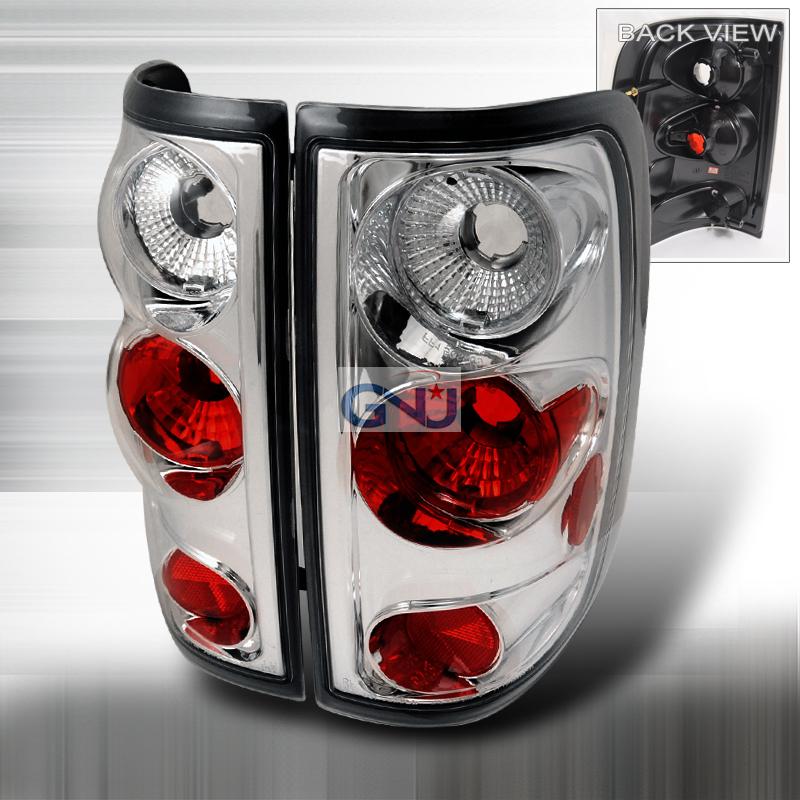 Ford F150  2004-2008 Chrome Euro Tail Lights