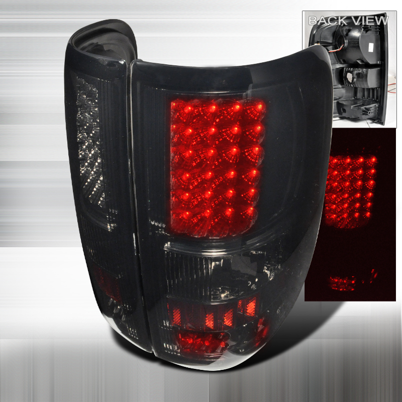 Ford F150  2004-2008 Smoke LED Tail Lights