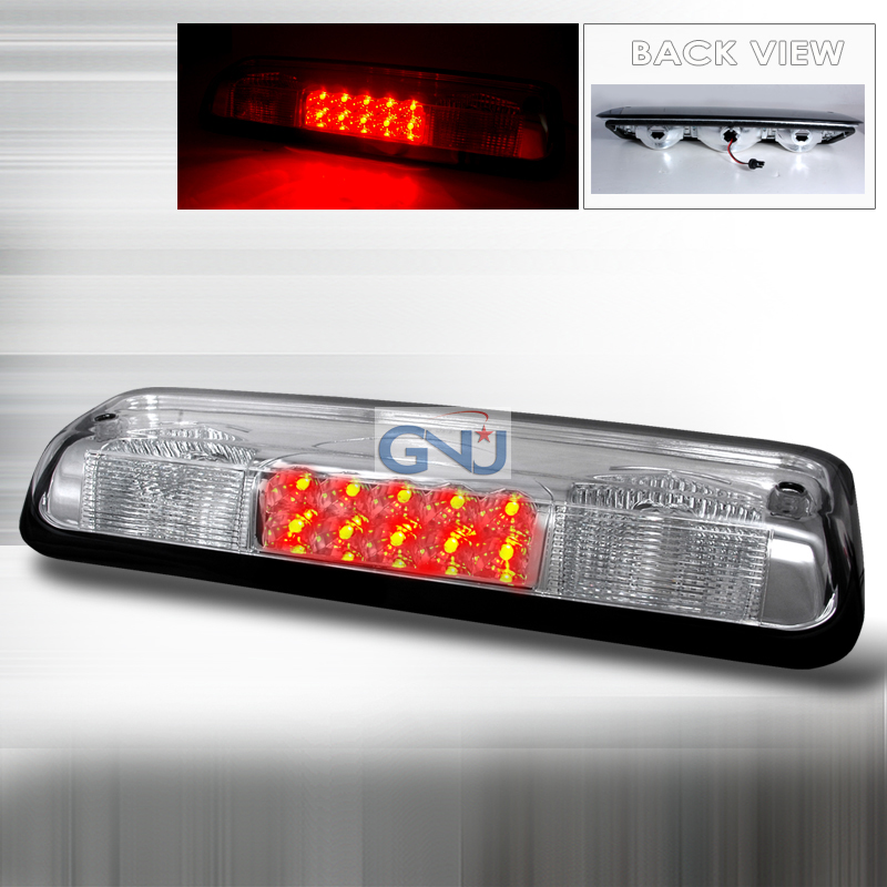 Ford F150 2004-2008 LED 3rd Brake Light - Chrome