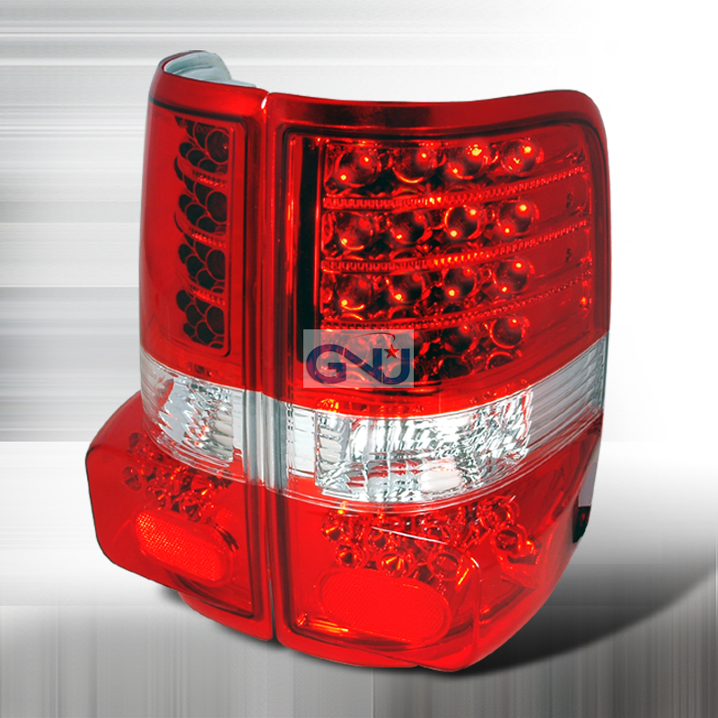 Ford F150  2004-2007 Red LED Tail Lights