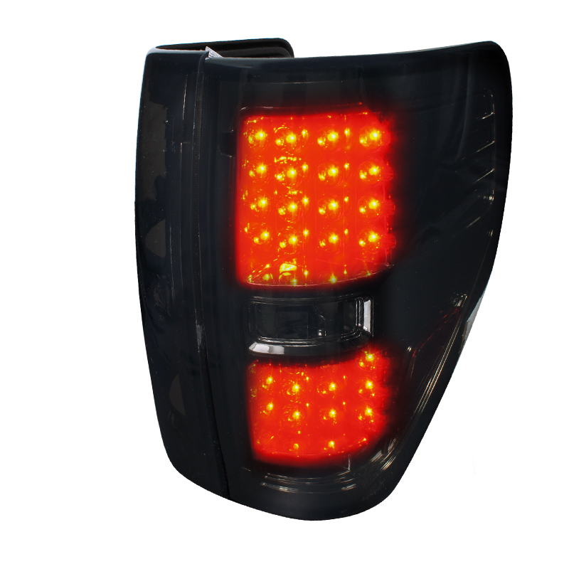 Ford F150  2009-2012 Smoke LED Tail Lights