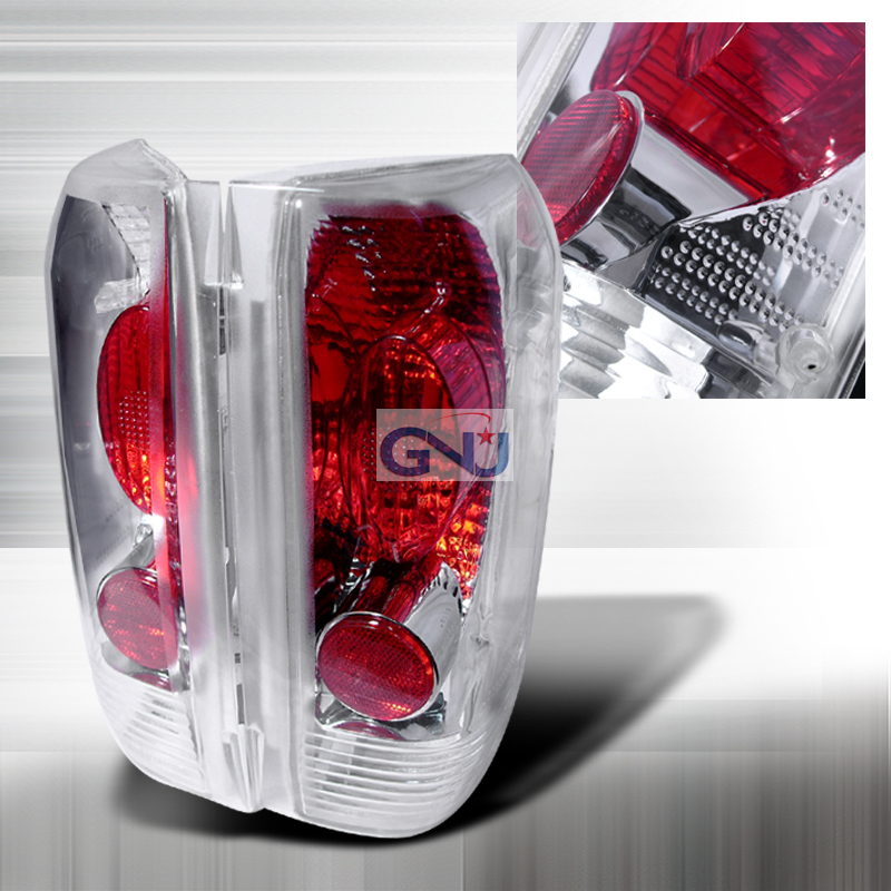 Ford F150  1989-1996 Chrome Euro Tail Lights